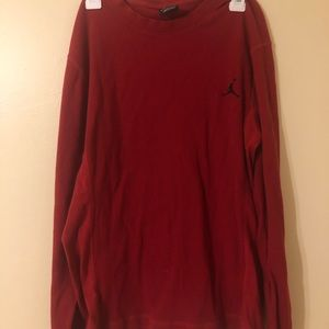 Red Jordan Sweatshirt